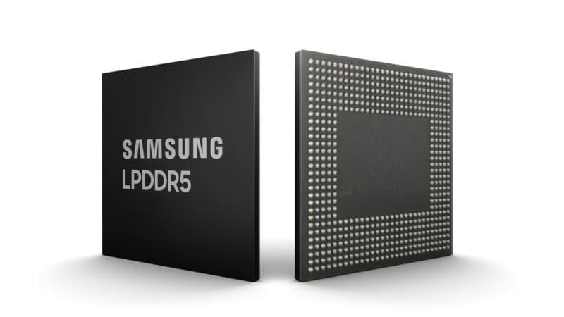 Samsung Unveils Industry's First 10nm 8Gb LPDDR5 DRAM Module