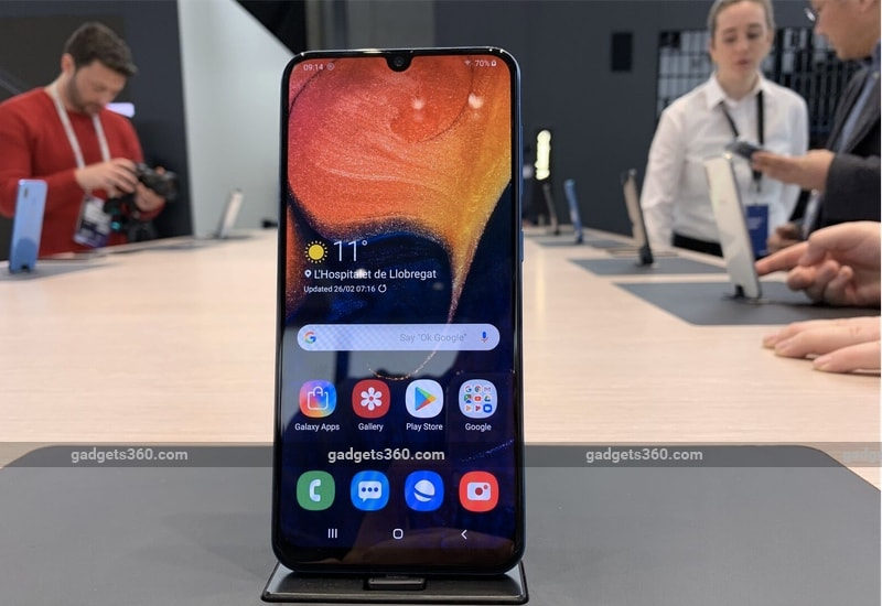 Samsung Galaxy A50 Price in India to Start From Rs. 19,990, Galaxy A30 Will Retail at Rs. 16,990