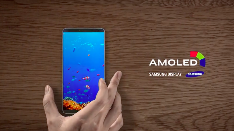 Samsung AMOLED Display এর ছবি ফলাফল