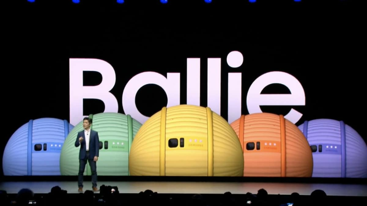Samsung at CES 2020: Ballie Rolling Robot, Exoskeleton to Improve Your Posture Using AI Unveiled