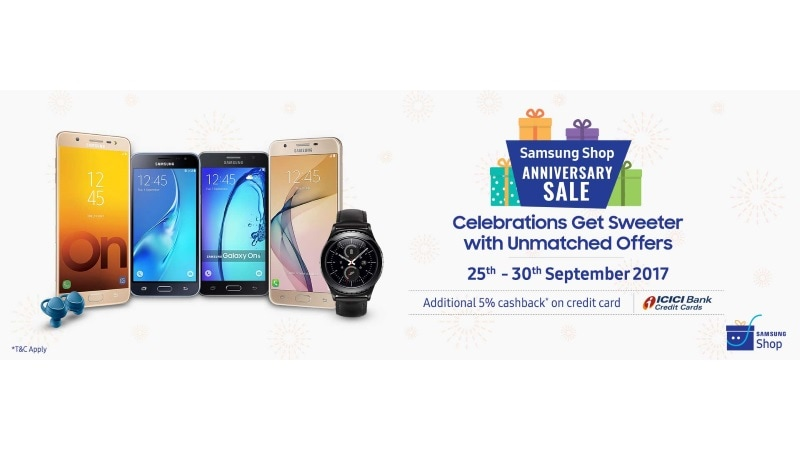 Samsung Offers Discounts on Galaxy S8+, Galaxy S8, and More in Shop Anniversary Sale