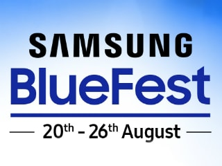 Samsung Galaxy M20, Galaxy M30, Gear S3 Frontier, Galaxy Fit e, and Others Get Discounts During 'Blue Fest 2019' Sale in India