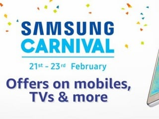 Samsung Carnival on Amazon India Starts Tuesday With Discounts on Smartphones, Tablets, and More
