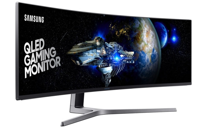 Samsung Chg90 49 Inch Curved Qled Monitor Launched In
