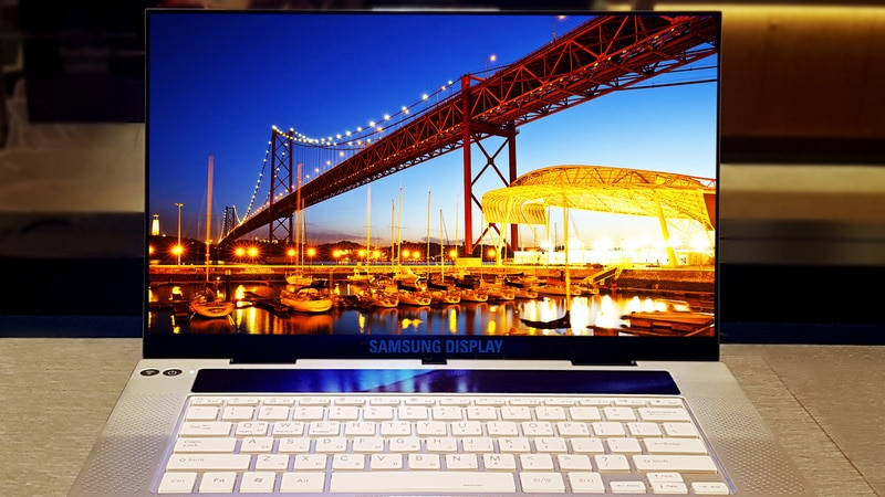 Samsung Unveils 'First UHD OLED Display' for Laptops