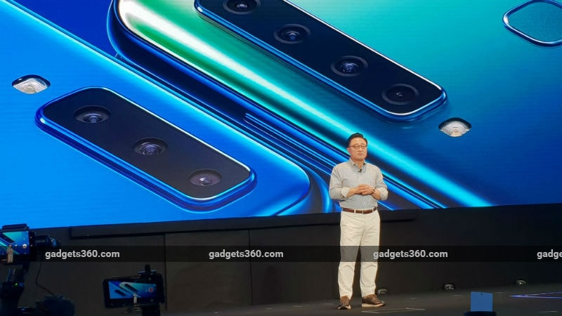 Samsung launch industry first quadruple-camera smartphone