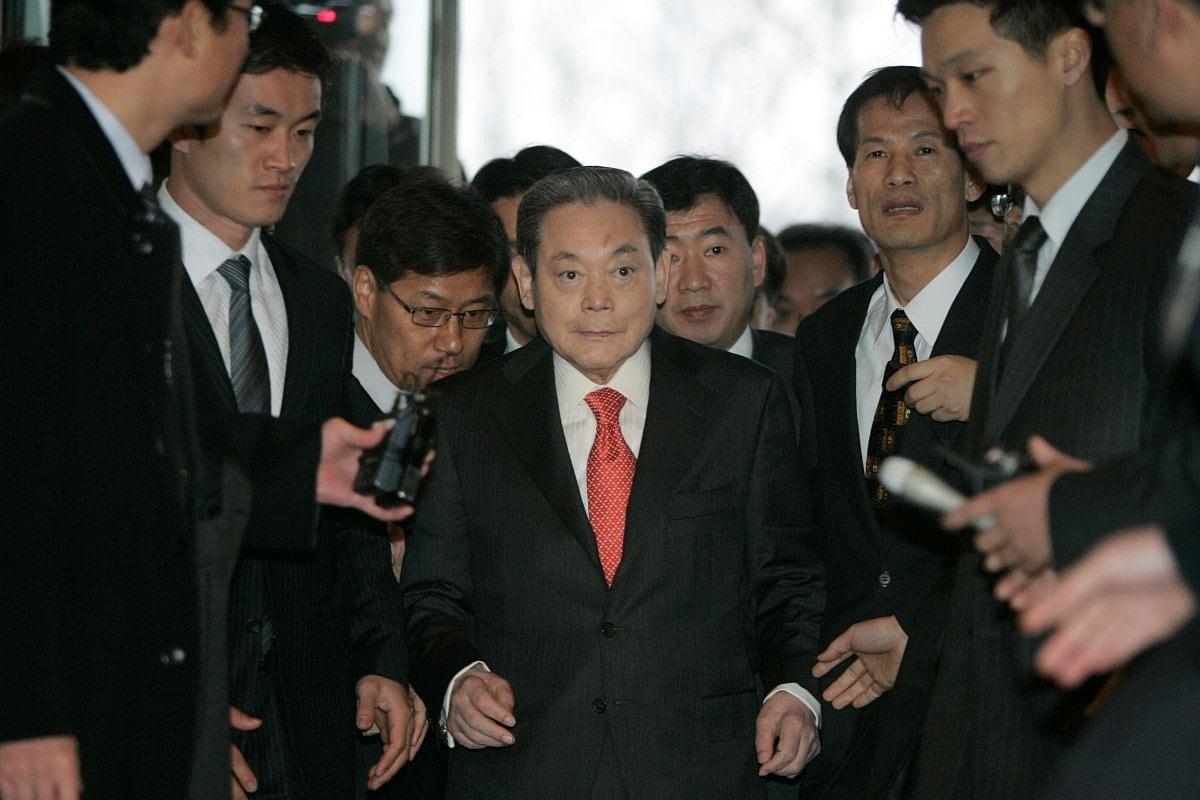 Samsung Electronics Chairman Lee Kun-hee Dies at 78