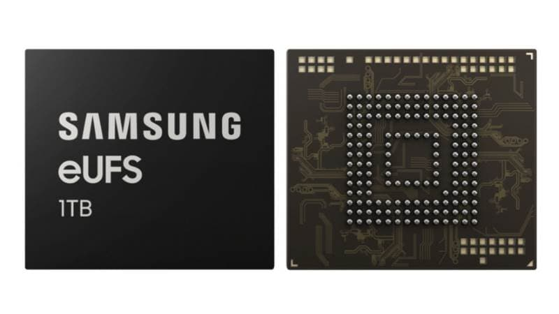 Samsung 1TB eUFS 2.1 Storage Chips Announced for Upcoming Flagship Smartphones, May Feature on Galaxy S10