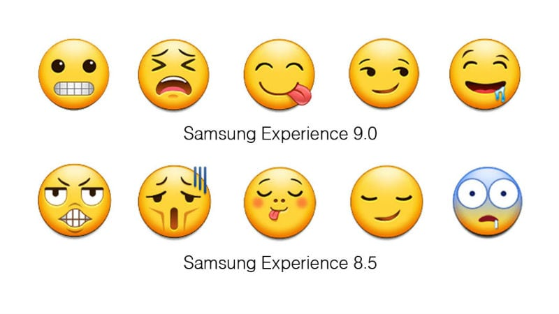 Samsung Experience 9.0 Brings Not Just Android Oreo, But Tons of New Emojis