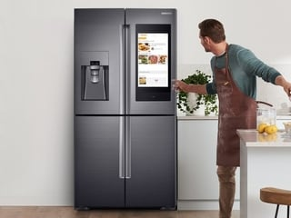 Samsung Family Hub Refrigerator With 21-Inch Touchscreen and Bixby Launched in India