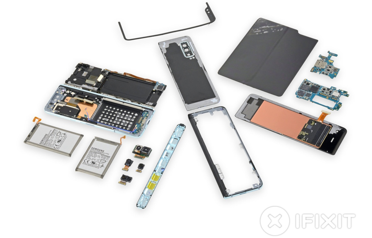 Samsung Galaxy Fold Teardown Pulled by iFixit on Samsung's Request