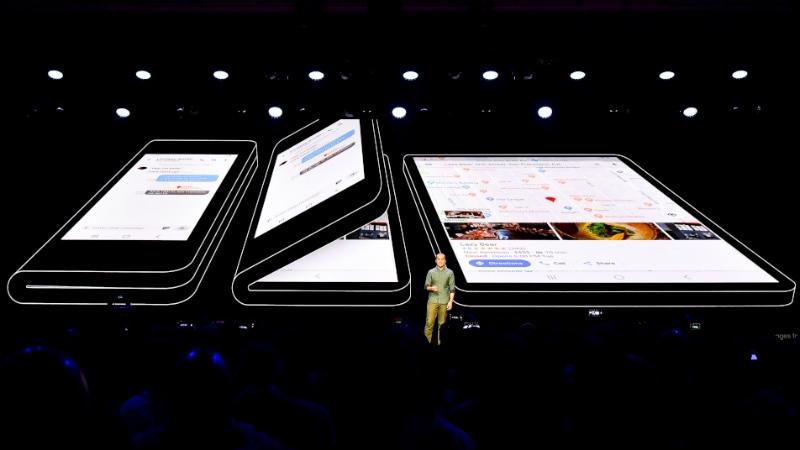 Samsung फोल्डेबल स्मार्टफोन में हो सकता है ट्रिपल रियर कैमरा सेटअप और 7.3 इंच का डिस्प्ले