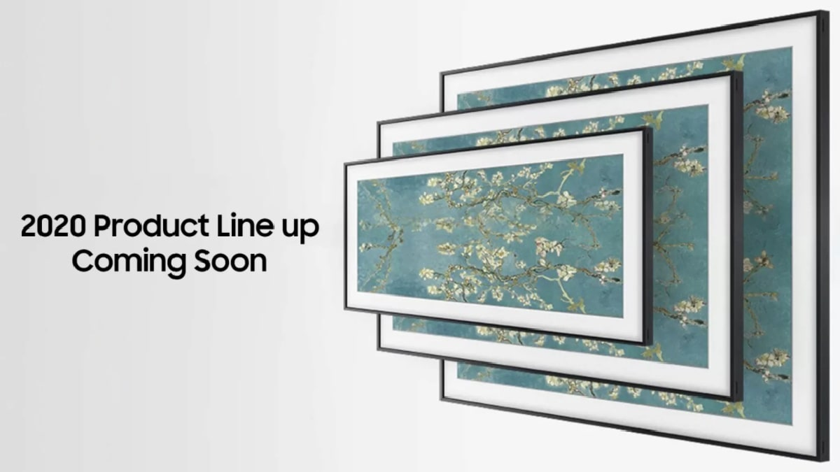 Samsung Frame TV 2020 Lineup Set to Launch in India Next Week, Flipkart Teases Availability 1
