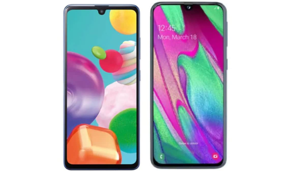 Samsung Galaxy A41 vs Samsung Galaxy A40: Price, Specifications Compared