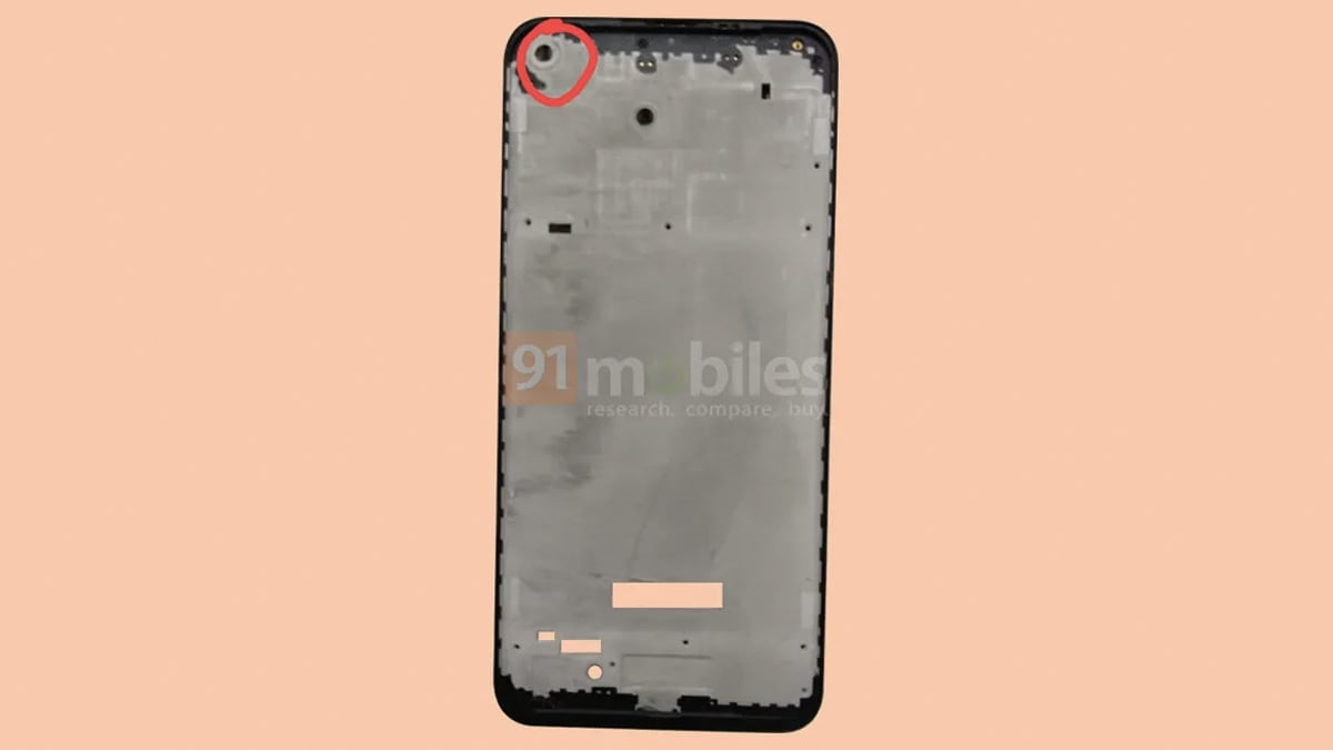 Samsung Galaxy A11 Leaked Frame Images Hint Hole Punch Display Triple Cameras Technology News