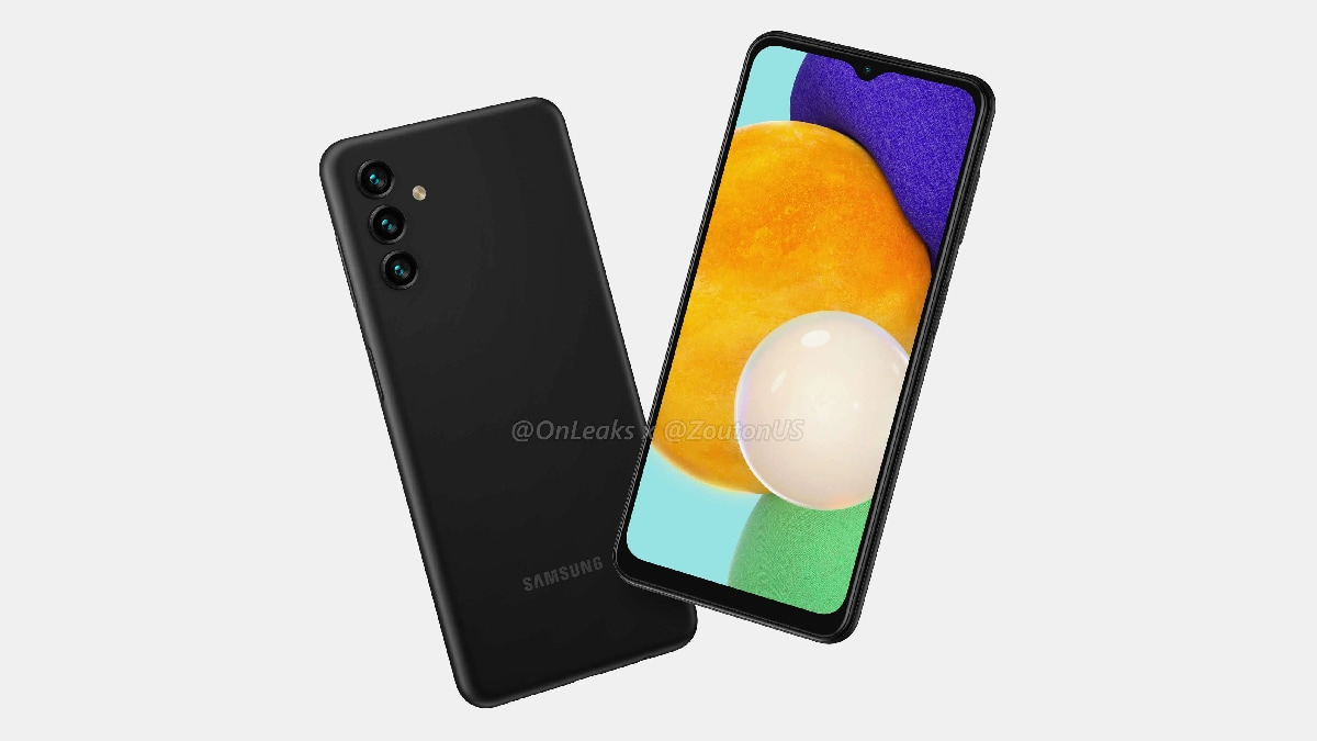 Samsung Galaxy A13 5G Price, Renders, Specifications Leak Ahead of Launch;  May Sport Triple Rear Cameras   Technology News