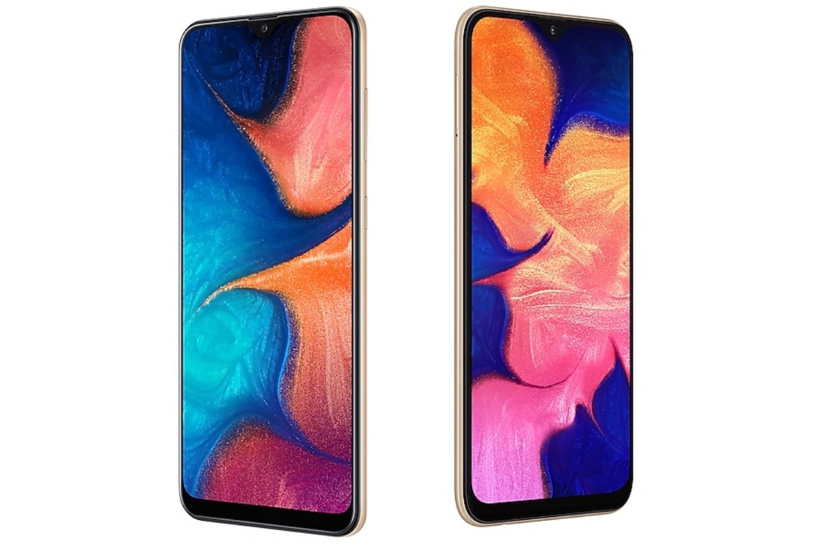 Samsung Galaxy A10, Galaxy A20 Gold Colour Variant Launched in India; Galaxy A60 Receives Peach Sea Salt Finish