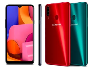 Samsung Galaxy A20s With Triple Rear Cameras, Snapdragon 450 SoC Launched in India: Price, Specifications