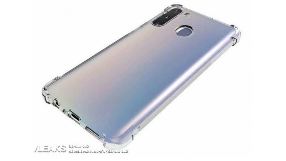 samsung galaxy a21 back case render leaked slashleaks Samsung Galaxy A21