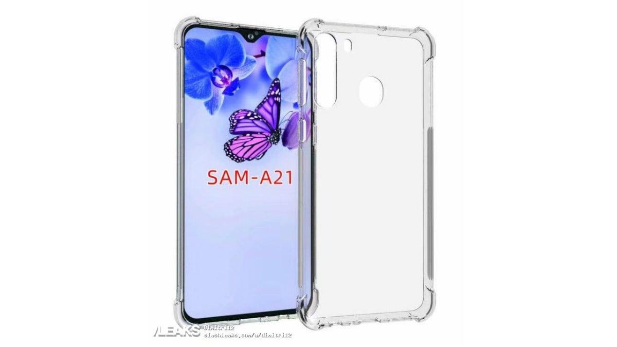 Samsung Galaxy A21 Leaked Case Renders Tip Triple Rear Cameras, Waterdrop-Style Display