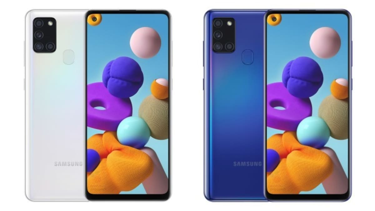 Samsung Galaxy A21s Price, Specifications, Renders Leaked Ahead of Rumoured May-End Availability