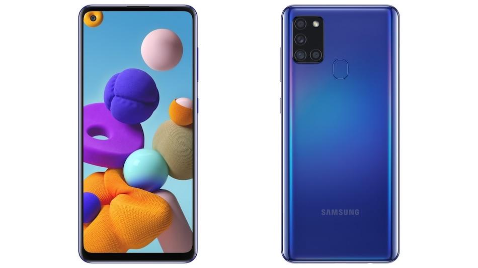 Samsung Galaxy A21s लॉन्च, चार रियर कैमरे और 5,000 एमएएच बैटरी हैं खासियत
