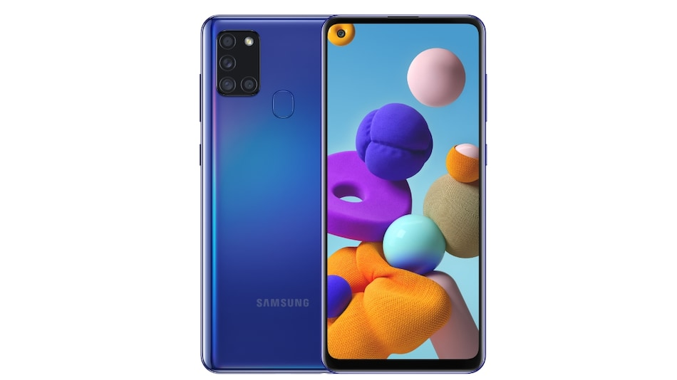 Samsung Galaxy A21s With 5,000mAh Battery, Quad Cameras Launched in India, Price, Specifications