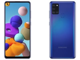 Samsung Galaxy A21s Launched With Quad-Cameras, 5,000 mAh Battery: Price, Specifications