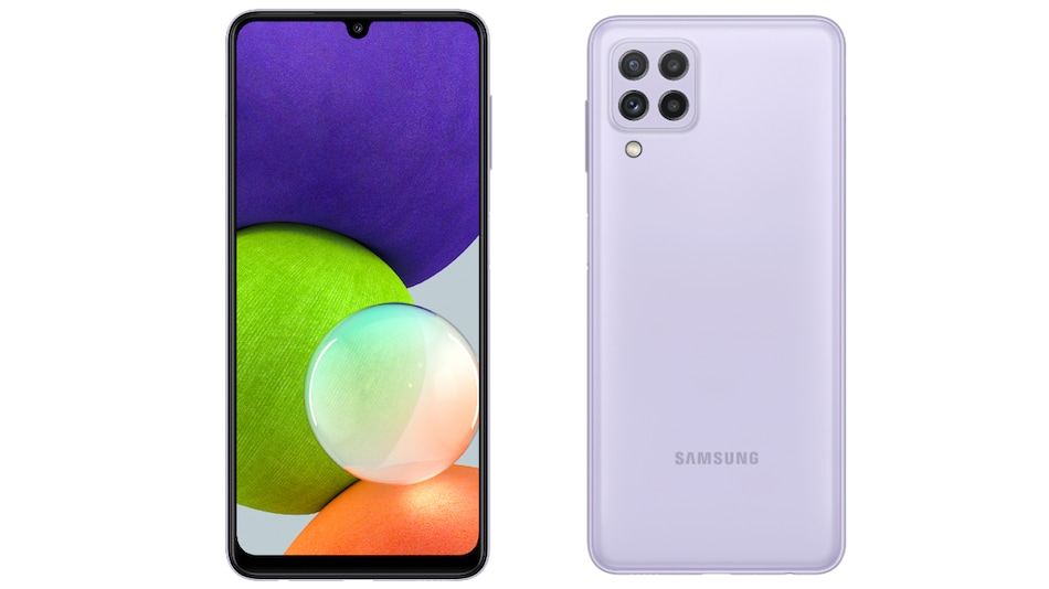 Samsung Galaxy A22 Price in India, Specifications Tipped Ahead of Launch