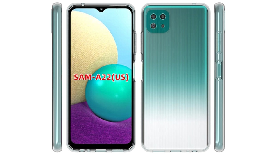 Samsung Galaxy A22 Design Tipped Through Purported Case Renders