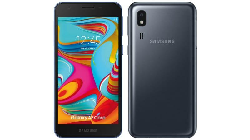 Samsung Galaxy A2 Core के स्पेसिफिकेशन लीक