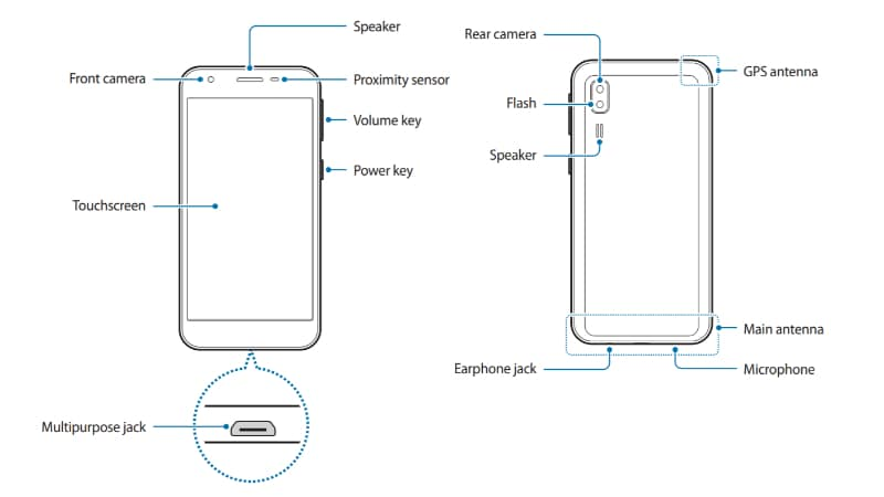 samsung galaxy a2 core schematic user manual Samsung Galaxy A2 Core