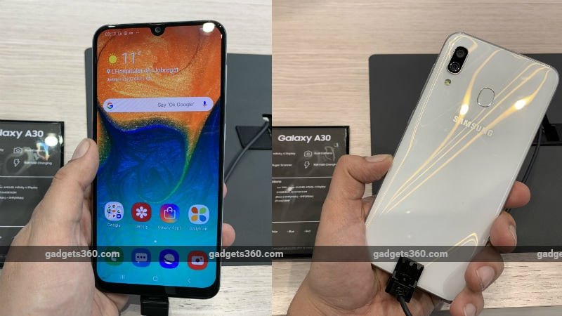 samsung galaxy a30 gadgets 360 Samsung Galaxy A30