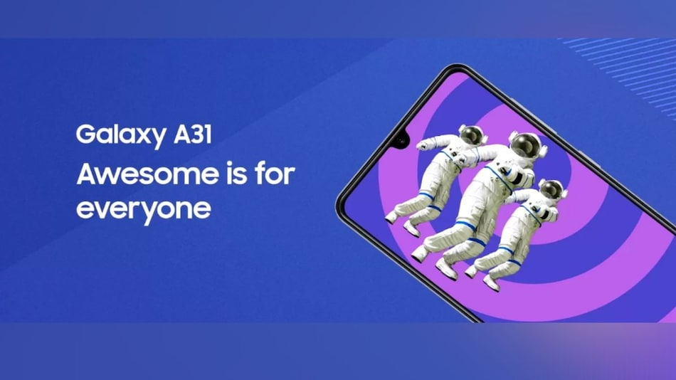 Samsung Galaxy A31 Launching in India Today: How to Watch Livestream, Expected Price, Specifications