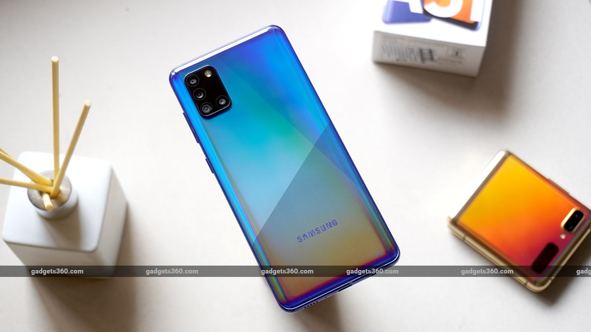 samsung galaxy a31 review back samsung