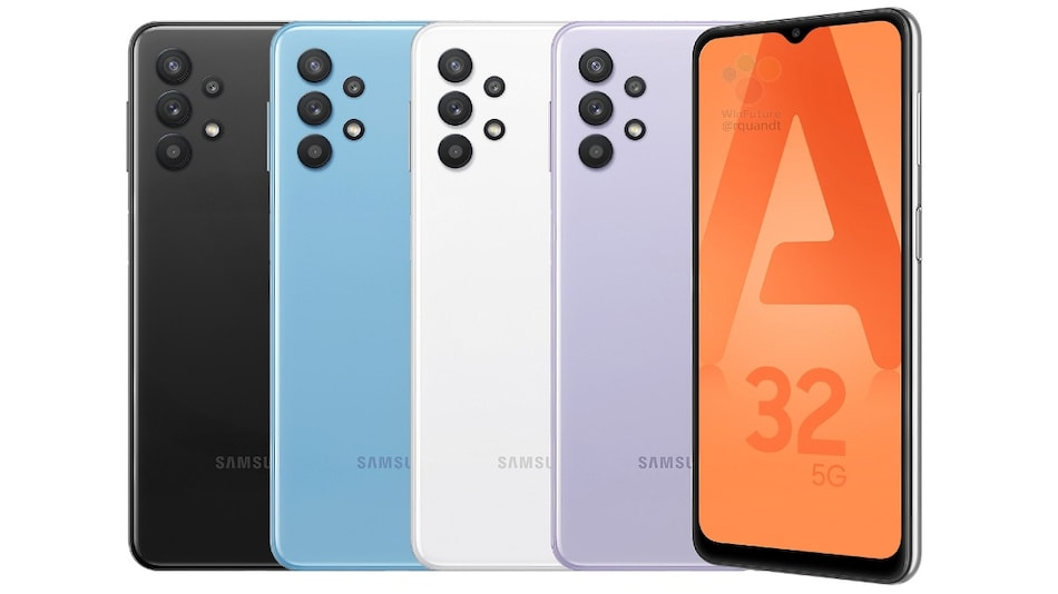 Samsung Galaxy A32 5G Leaked Renders Show Phone in Multiple Colours
