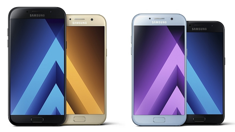 Samsung Galaxy A3, Galaxy A5, Galaxy A7 (2017) Smartphones Launched Ahead of CES 2017