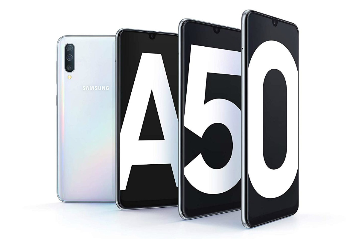 Samsung Galaxy A50 Update Brings Touchscreen, Moisture