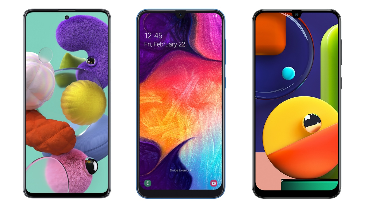 Samsung Galaxy A51 vs Samsung Galaxy A50 vs Samsung Galaxy A50s: What's the Difference?