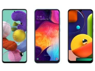 Samsung Galaxy A51, Galaxy A50 और Galaxy A50s एक-दूसरे से कितने अलग?