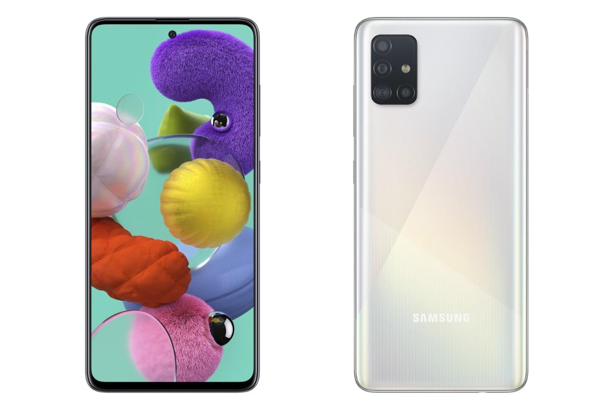 Samsung Galaxy A51 लॉन्च हुआ भारत में, चार रियर कैमरे और 32 मेगापिक्सल सेल्फी सेंसर से है लैस