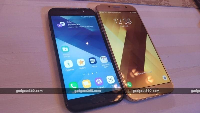 Samsung Galaxy A5 (2017) and Galaxy A7 (2017) First Impressions