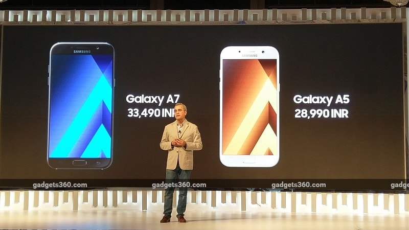 Samsung Galaxy A5 (2017), Galaxy A7 (2017) With 4G VoLTE Support, IP68 Rating Launched in India