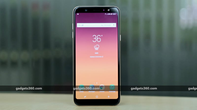 Samsung Galaxy A6 Galaxy A6 With Infinity Display Ai Camera