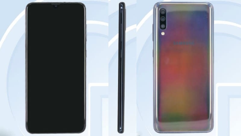 Samsung Galaxy A60, Galaxy A70 Specifications and Images