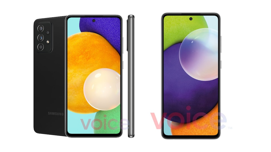Samsung Galaxy A72 5G, Samsung Galaxy A52 5G Design Details Tipped by Leaked Renders