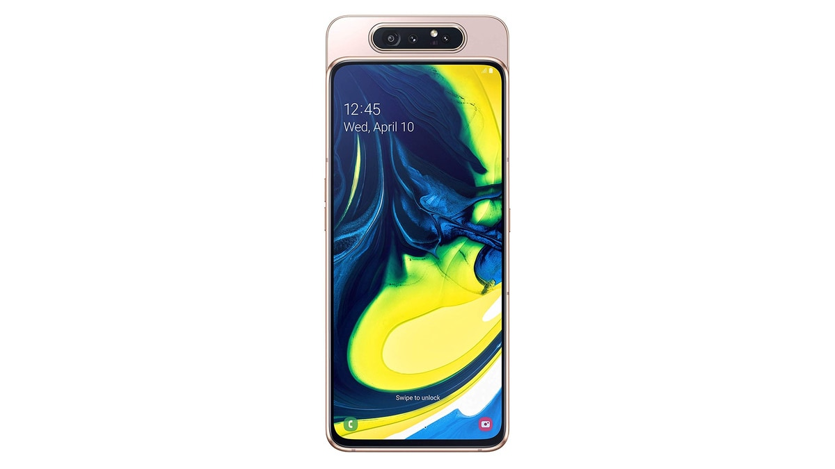 Samsung Galaxy A80 Goes on Sale in India: Price, Offers, Specifications