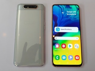 Samsung Galaxy A80 With Rotating Camera, In-Display Fingerprint Sensor Launched: Price, Specifications