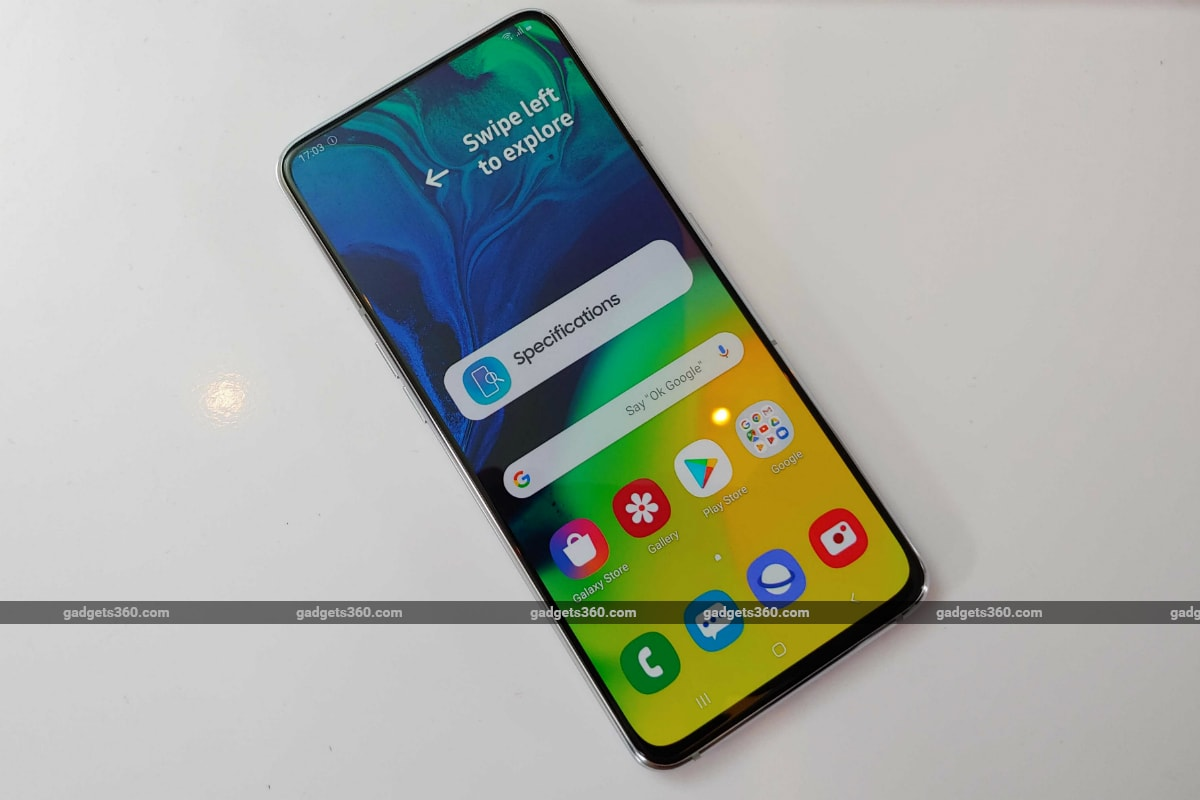 Samsung Galaxy A80 Update Brings Autofocus to Selfie Mode, July Android Security Patch: Report