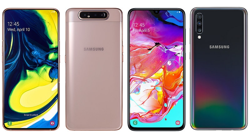 Samsung A80 vs Galaxy A70: Comparing the Latest Samsung Smartphones